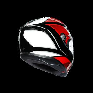 K6 E2205 MULTI - HYPHEN BLACK/RED/WHITE