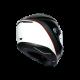 K6 E2205 MULTI - MINIMAL PURE MATT BLACK/WHITE/RED