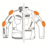 Ducati Strada 2 Goretes Revit jacket motorcycle textile